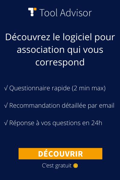 Logiciel association bannière