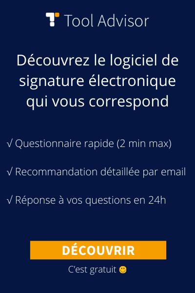 Logiciel de signature électronique