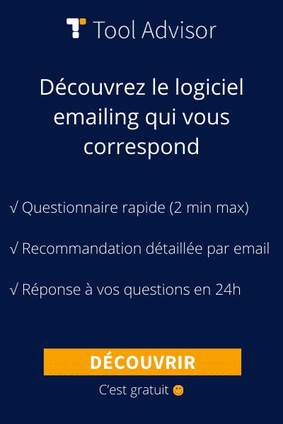 Logiciel emailing bannière