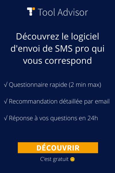 SMS pro bannière