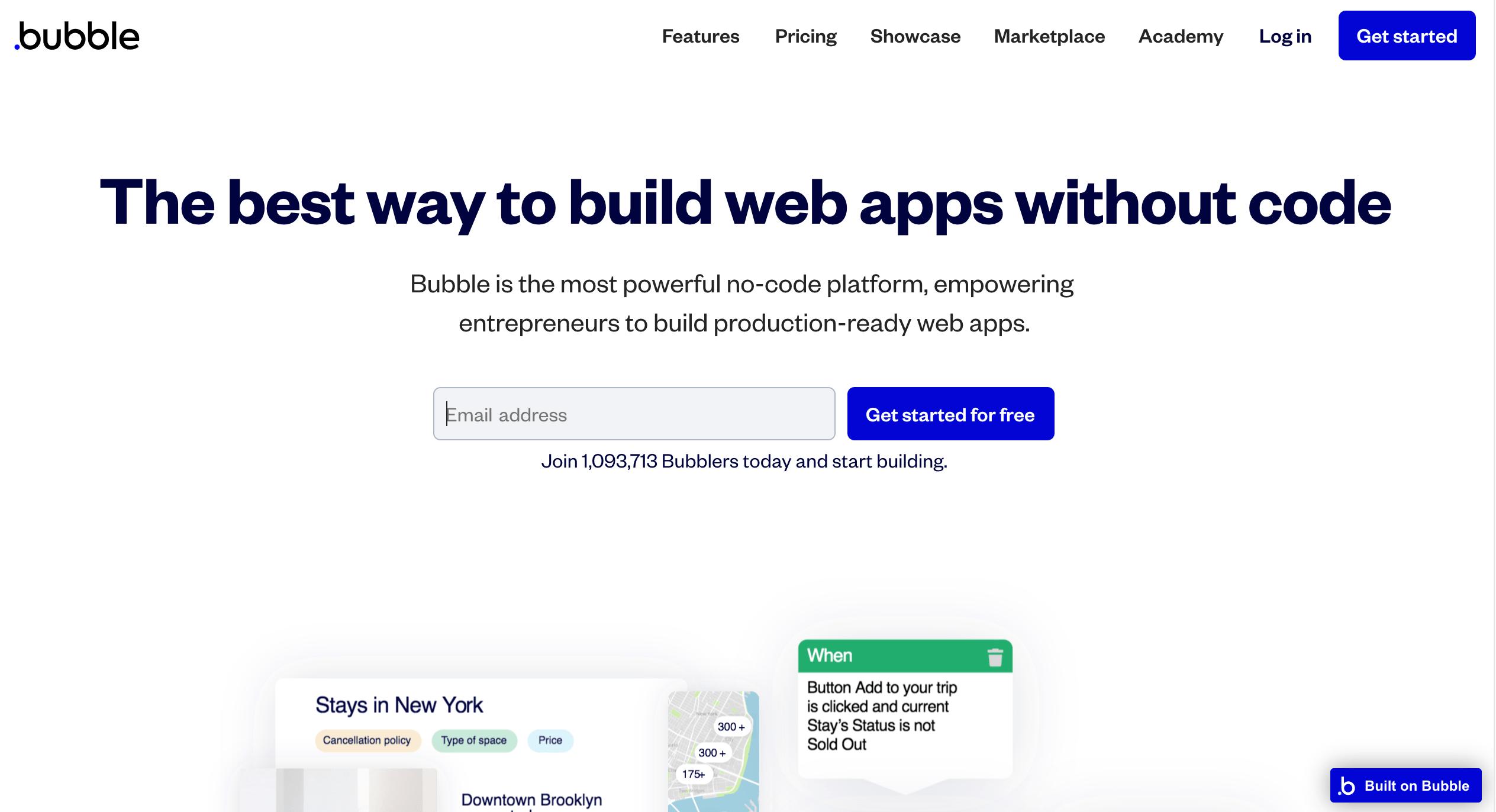 Bubble App No-Code