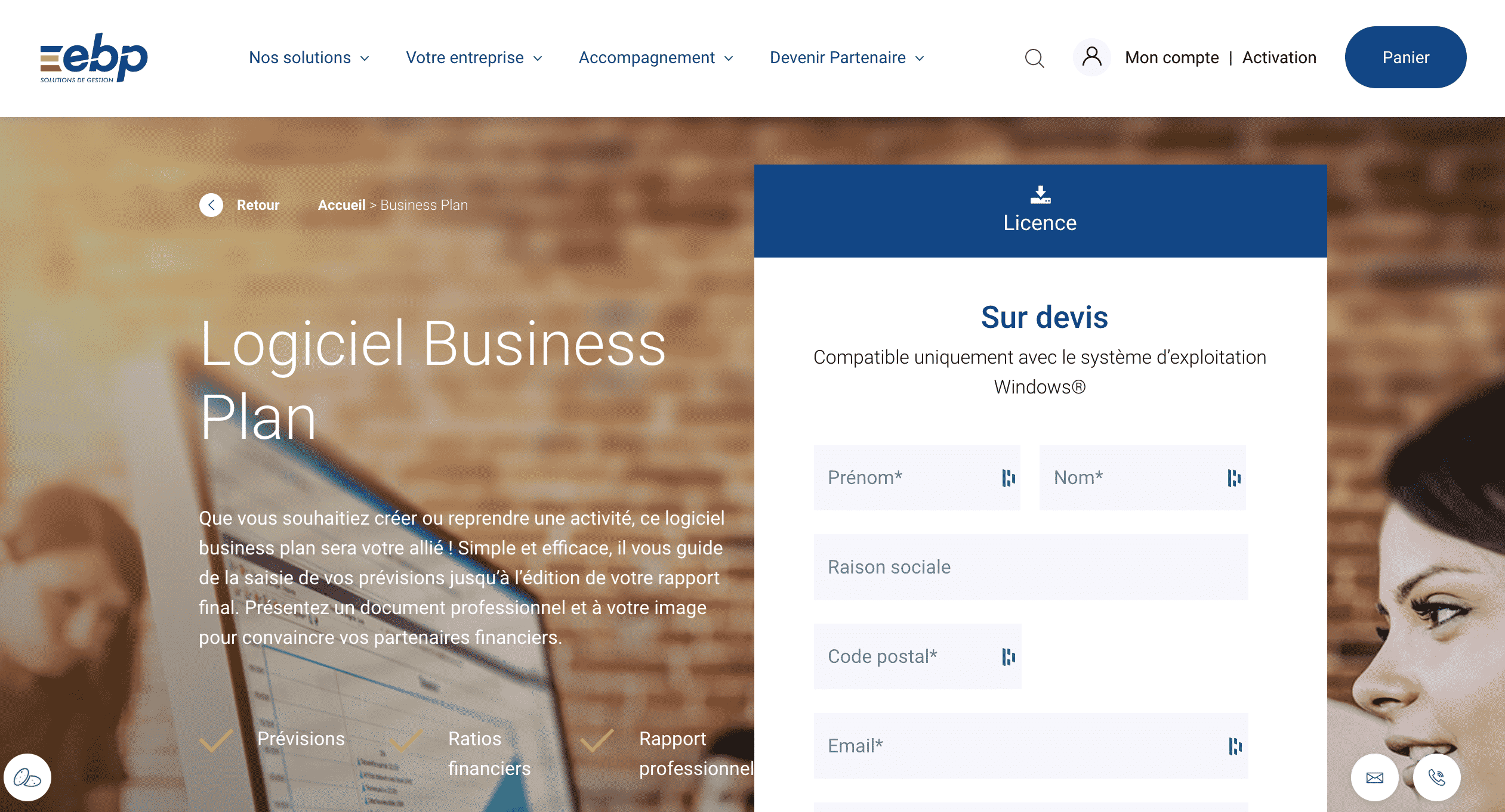 EBP Business plan