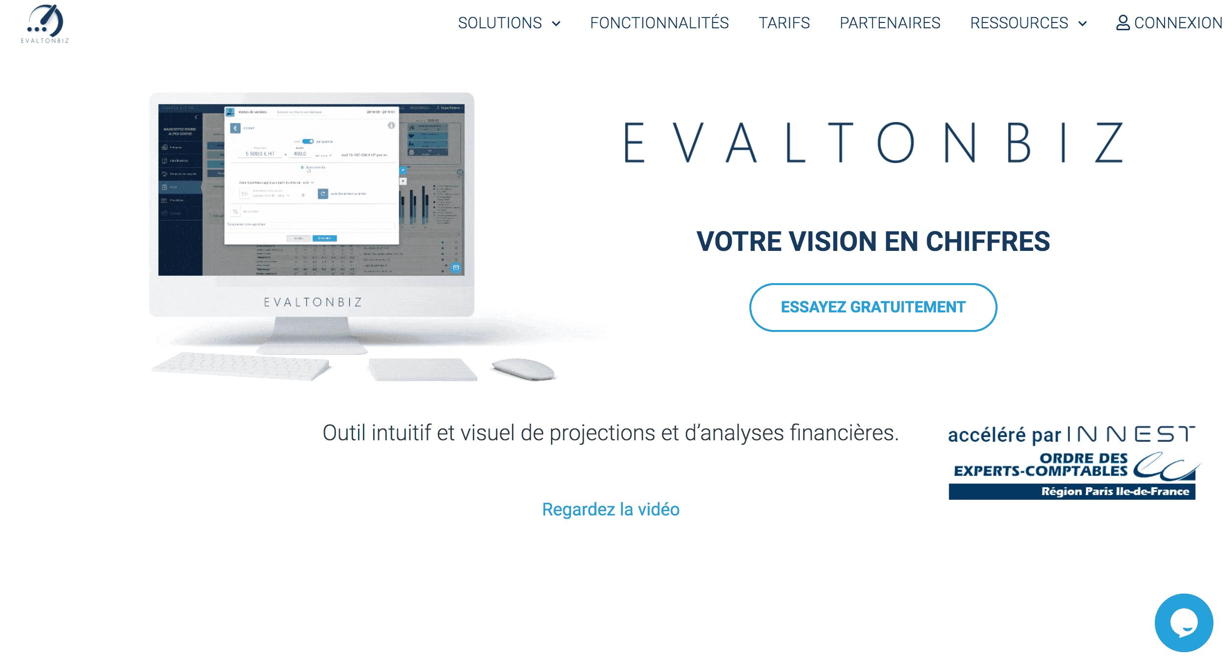 EvaltonBiz Business plan payant