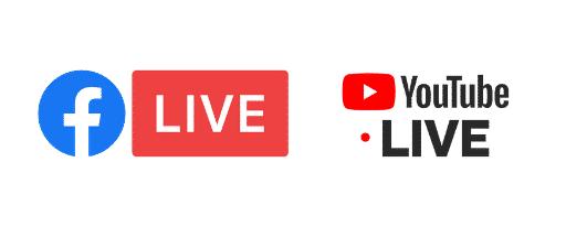 Facebook-Youtube Live
