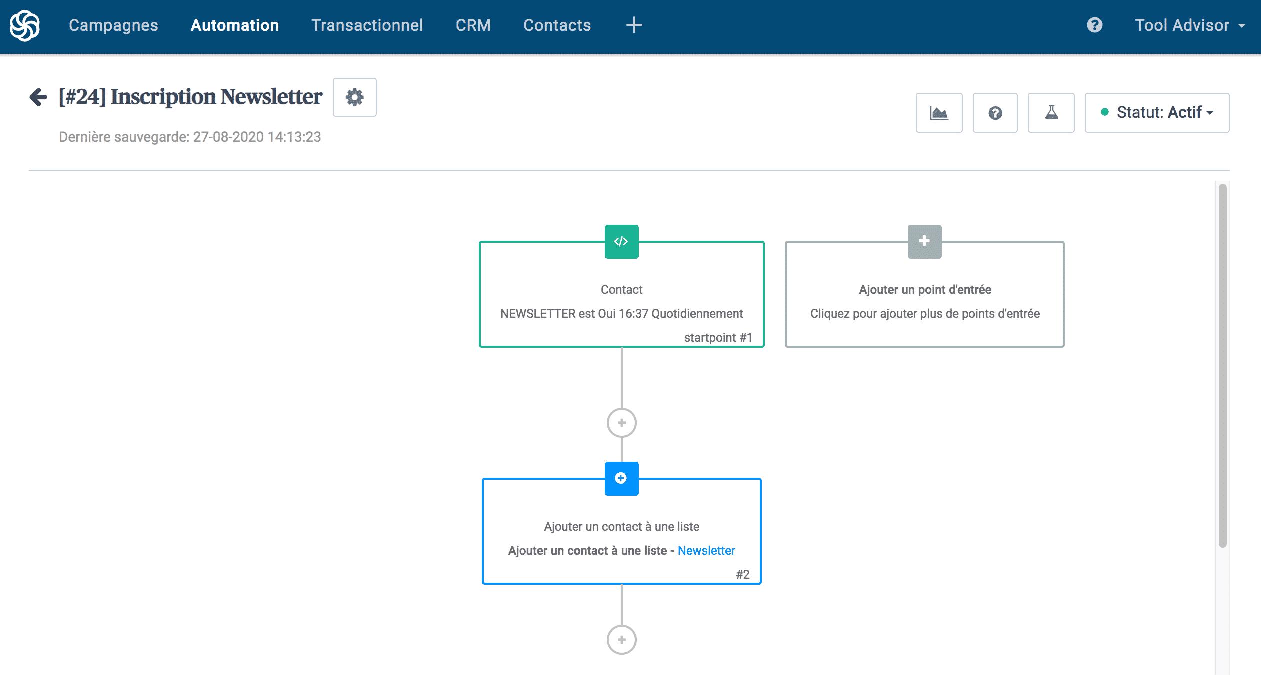 Sendinblue - Marketing automation