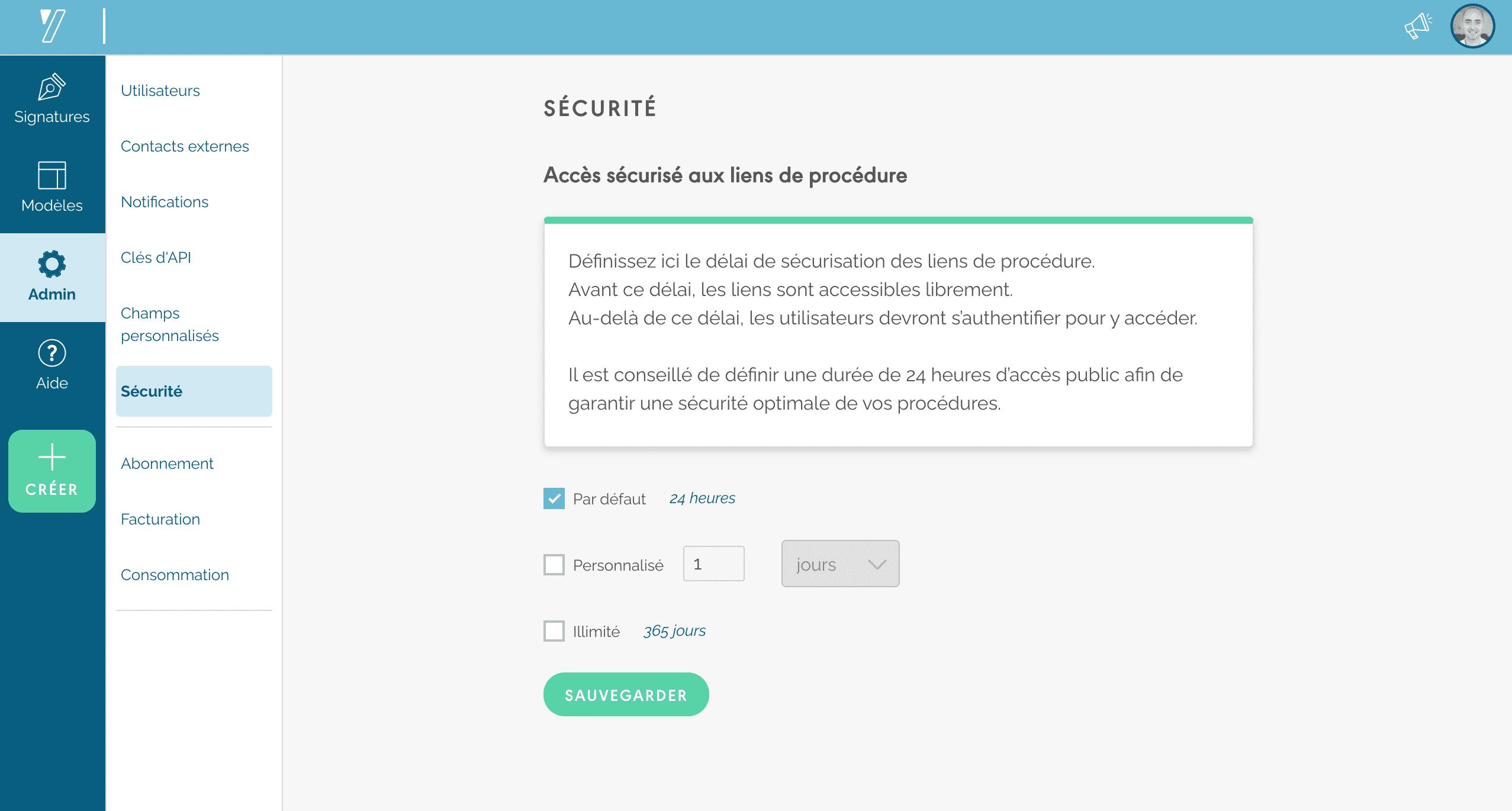 Yousign - sécurité